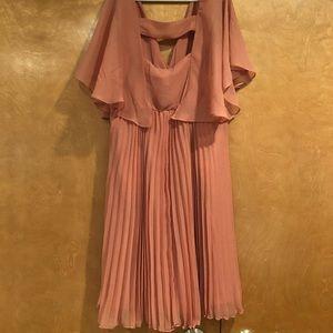 Blush Maternity Dress